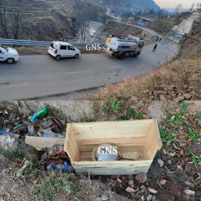 راجوری میں جموں – پونچھ شاہراہ پر آئی ای ڈی بم ناکارہ بنایا گیا