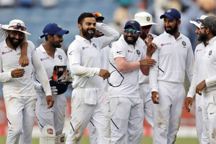 ہندوستان کی 317 رنوں سے جیت ، سیریز  برابر