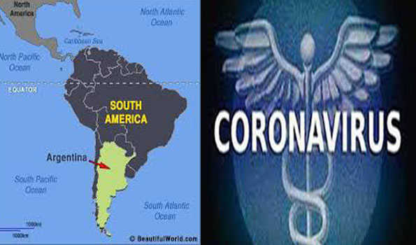 ارجنٹینا میں کورونا متاثرین کی تعداد 20 لاکھ سے متجاوز