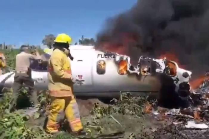 میکسیکو میں چھوٹا طیارہ گر کر تباہ ، چھ افراد ہلاک