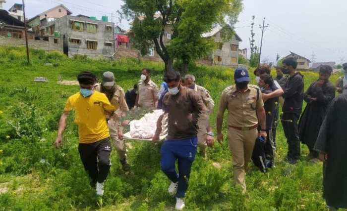 جنوبی کشمیر کے پانپور میں نوجوان کی لاش بر آمد
