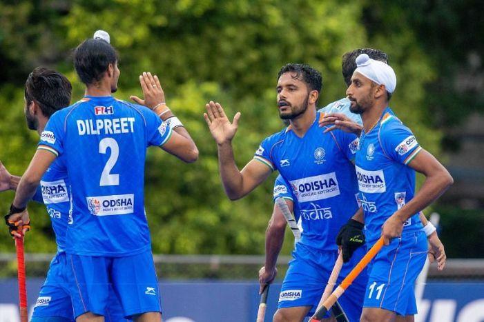 Tokyo Olympics: ہندوستانی مرد ہاکی ٹیم کا جیت سے آغاز، پچھڑنے کے بعد نیوزی لینڈ کو شکست دی