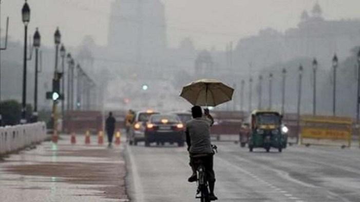 دہلی میں موسلادھار بارش سے جگہ جگہ لگا جام