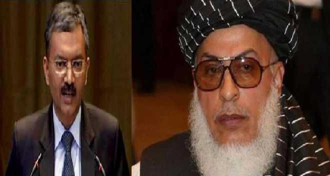 ہندوستانی سفیر دیپک متل نے طالبان کے نمائندے استانک زئی سے ملاقات کی