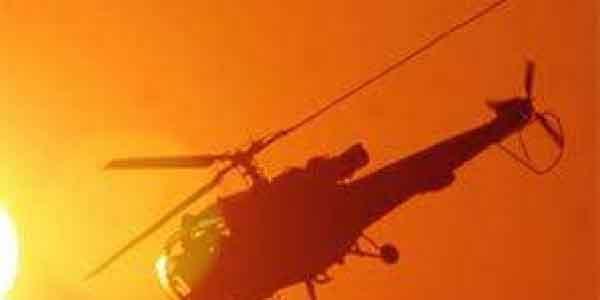 ضلع کٹھوعہ میں فوجی ہیلی کاپٹر تکینکی خرابی سے گر کر تباہ