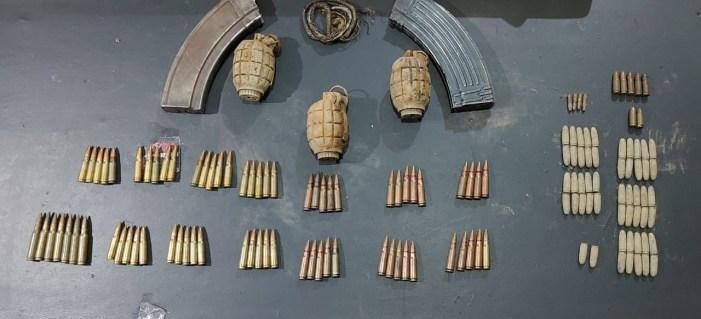 گاندربل کے جنگلات سے اسلحہ وگولی بارود ضبط:پولیس حکام