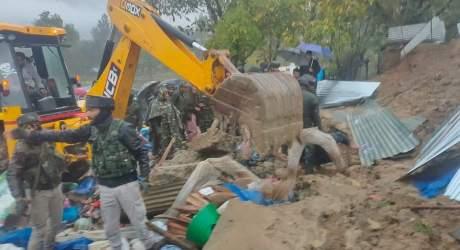 زمین دھنسنے کا واقعہ ،تین ہلاک ،ایک شدید زخمی