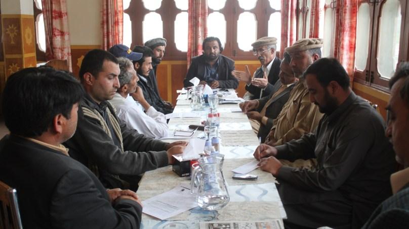 عوامی ایکشن کمیٹی ہنزہ نگر کا اجلاس، وسطی ایشیا تک راستے کھولنے کا مطالبہ