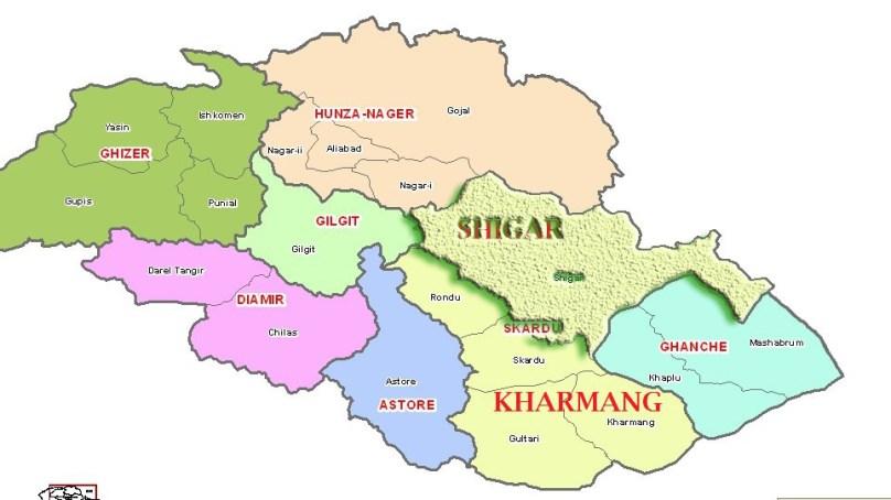 شگر اور کھرمنگ اضلاع پر اعتراضات سپریم اپیلیٹ کورٹ میں چیلنج ،سیکریٹریز عدالت طلب