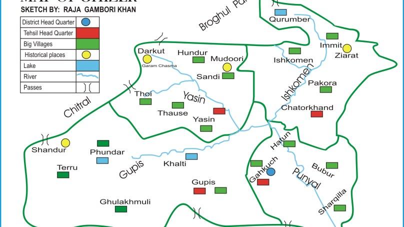 ضلع غذر کے حساس سرحدوں سے دہشتگردوں کے داخلے کا خدشہ، سکیورٹی اقدامات میں اضافہ