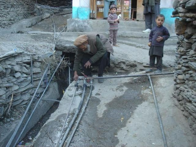 Chitral pipe