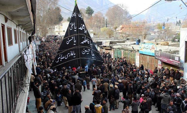 گلگت-بلتستان میں چہلم شہدائے کربلا مذہبی عقیدت و احترام کے ساتھ منایا گیا