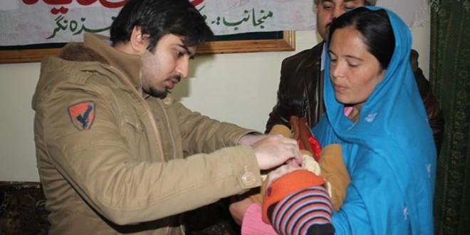 Polio drops campaign in Hunza Nagar