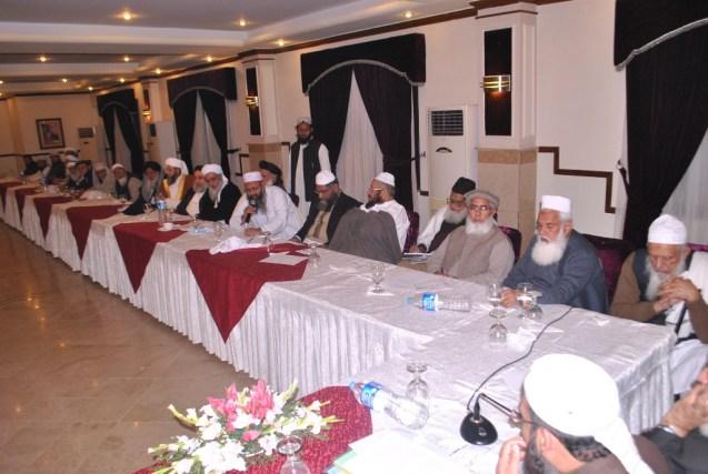 ijlas wafaq with Qazi nisar