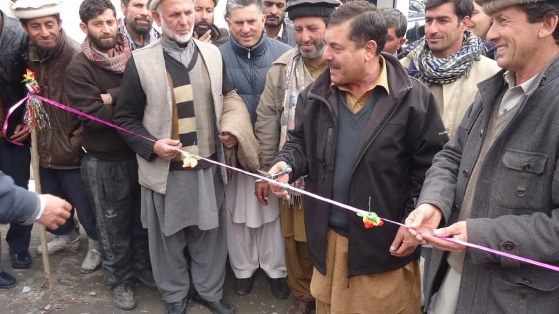 کڑوپ رشت چترال بازارمیں اتحاد ٹراسپورٹ سروس آڈہ کا قیام