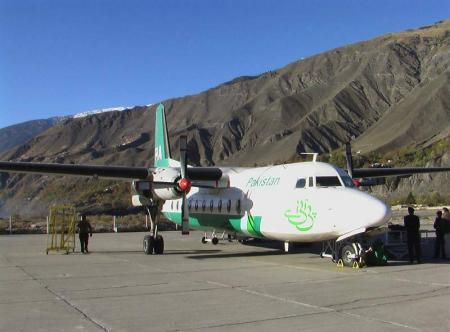 tral-airport-chitral-with-PIA-Plane-standing