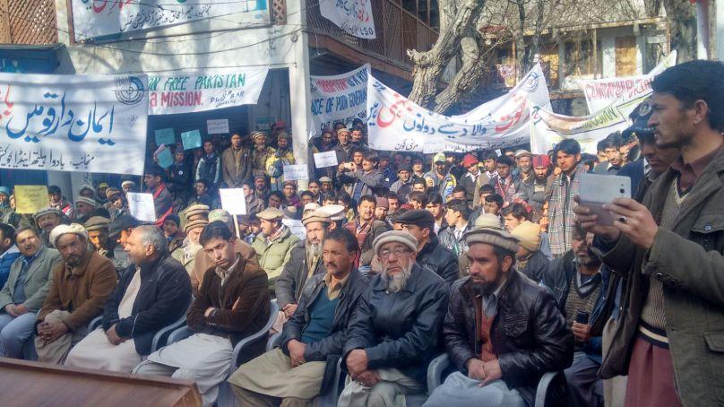 کرپشن کے خلاف خپلو میں آگاہی واک کا انعقاد