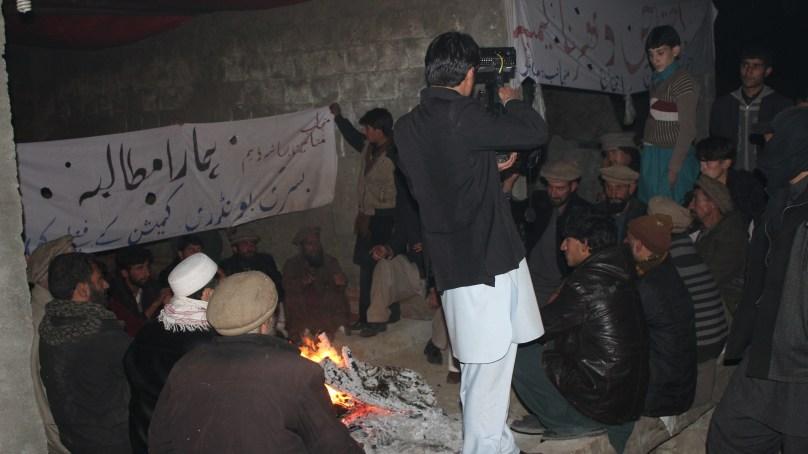 دیامر بھاشا ڈیم حدود تنازعہ ، کوہستان کے متاثرین کا دھرنا آٹھویں روز میں داخل
