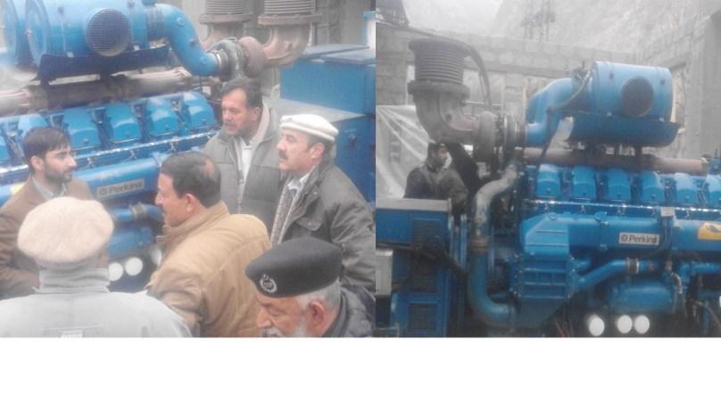 ایک میگا واٹ کا تھرمل جنریٹر راولپنڈی میں مرمت کرنے کے بعد ہنزہ پہنچا دیا گیا