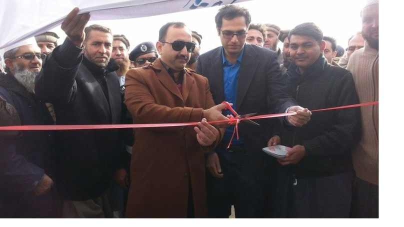 چلاس: لاری اڈا چلاس شہر سے باہرمنتقل کردیاگیا، ڈپٹی کمشنر دیامر عثمان احمد خان نے افتتاح کیا