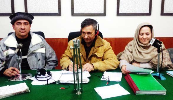 ریڈیو پاکستان گلگت میں نئے سال کا خصوصی پروگرام چترال سے آن لائین مہمانوں کی شرکت