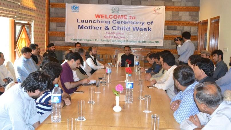 ماں اور بچے کی صحت کے بارے میں آگاہی پھیلانے کےلئے اخبارات اور سوشل میڈیا میں مہم چلائی جائے، وزیر اعلی