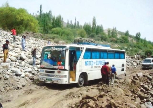 گلگت بلتستان میں ٹریفک حادثات سے بچاو کے لئے چند احتیاطی تدابیر