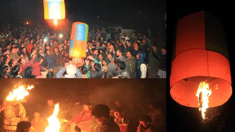 بلتستان کے مختلف علاقوں میں جشن مے فنگ جوش و خروش سے منایاگیا