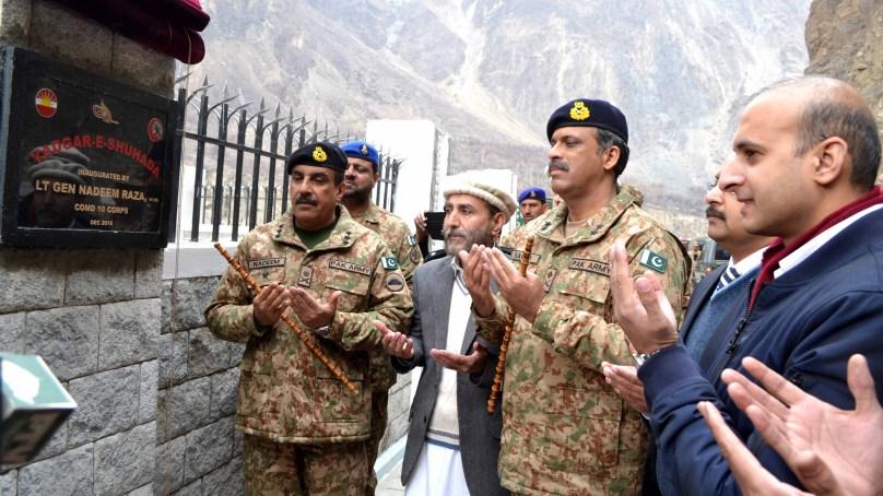 CPEC کے ثمرات سے پوراجی بی فائدہ اٹھا سکے گا۔ کور کمانڈر 10 Corpsلیفٹیننٹ جنر ل ندیم رضا