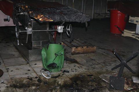 چترال : ڈی ایچ کیو چلڈرن ہسپتال چترال میں آتش زدگی