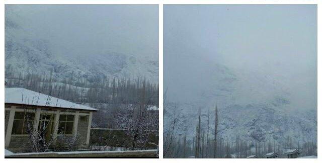 یاسین: برفباری کا سلسلہ جاری، بالائی علاقے کا زمینی رابطہ منقطع