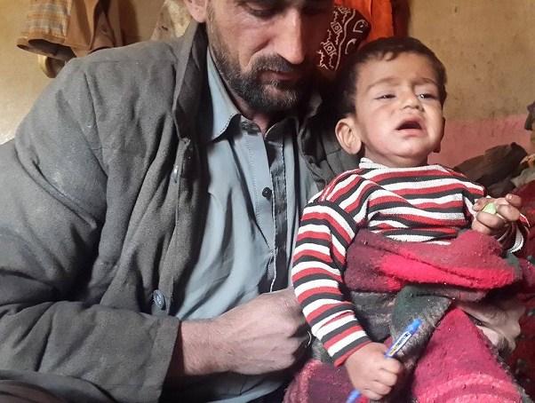 چلاس کے علاقے تھور سے تعلق رکھنے والے بچے میں پولیو وائرس کی موجودگی کا کیس مشکوک ہوگیا