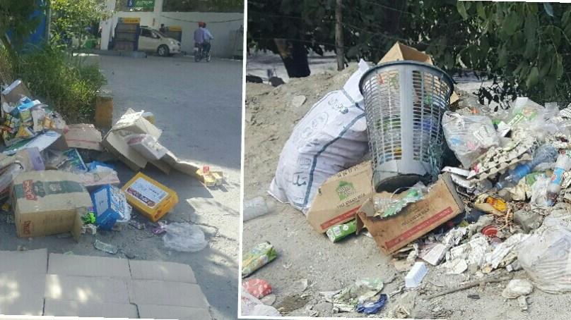 ہنزہ کی میونسپل کمیٹی غیر فعال، بازاروں میں کچرے کے ڈھیر لگ گئے