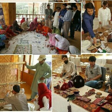 کاڈو کے زیرِ اہتمام ہنزہ میں خصوصی صلاحیتوں والے ہنرمندوں کی بنائی ہوئی دستکاریوں کی نمائش