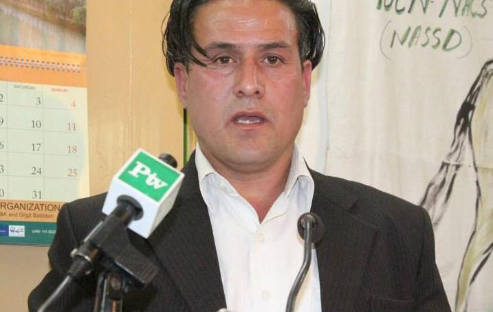ہلال احمر گلگت بلتستان میں نئے تقرر ہونے والے چیئرمین طارق حسین شاہ نے اپنے عہدے کا چارچ سنبھال لیا