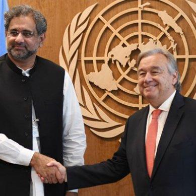 اقوام متحدہ میں مسئلہ کشمیر پر پاکستان کا جاندار موقف