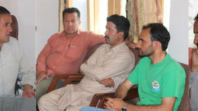 ہلال احمر کے نو تعینات چیرمین کے ساتھ صحافیوں کی ملاقات