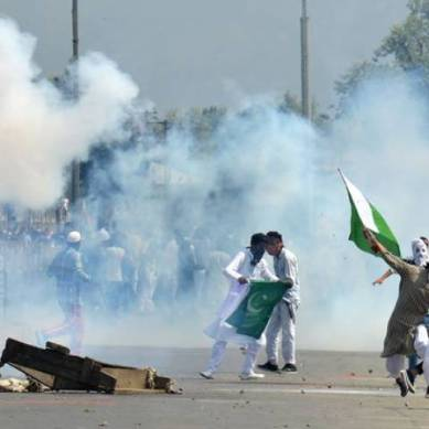 ہنزہ : ہنزہ میں یکجہتی کشمیر ریلی نکالی گئی
