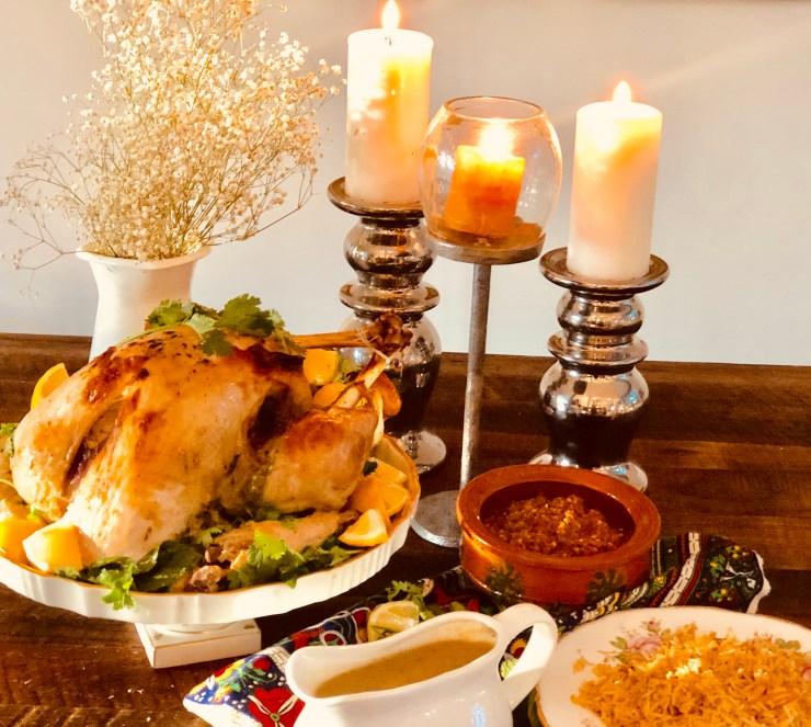 Hara Masala Roast Turkey
