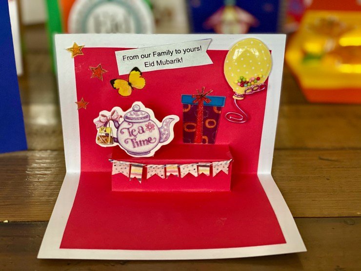 3D Pop-Up Eid Cards