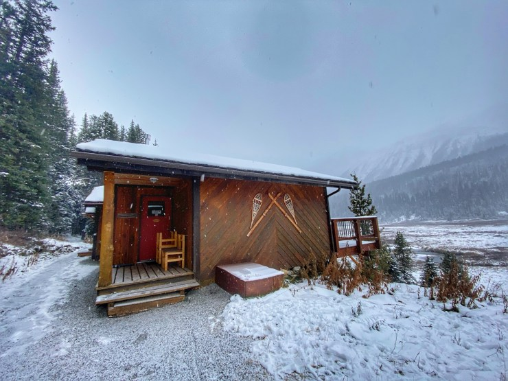 mount engadine lodge cabins