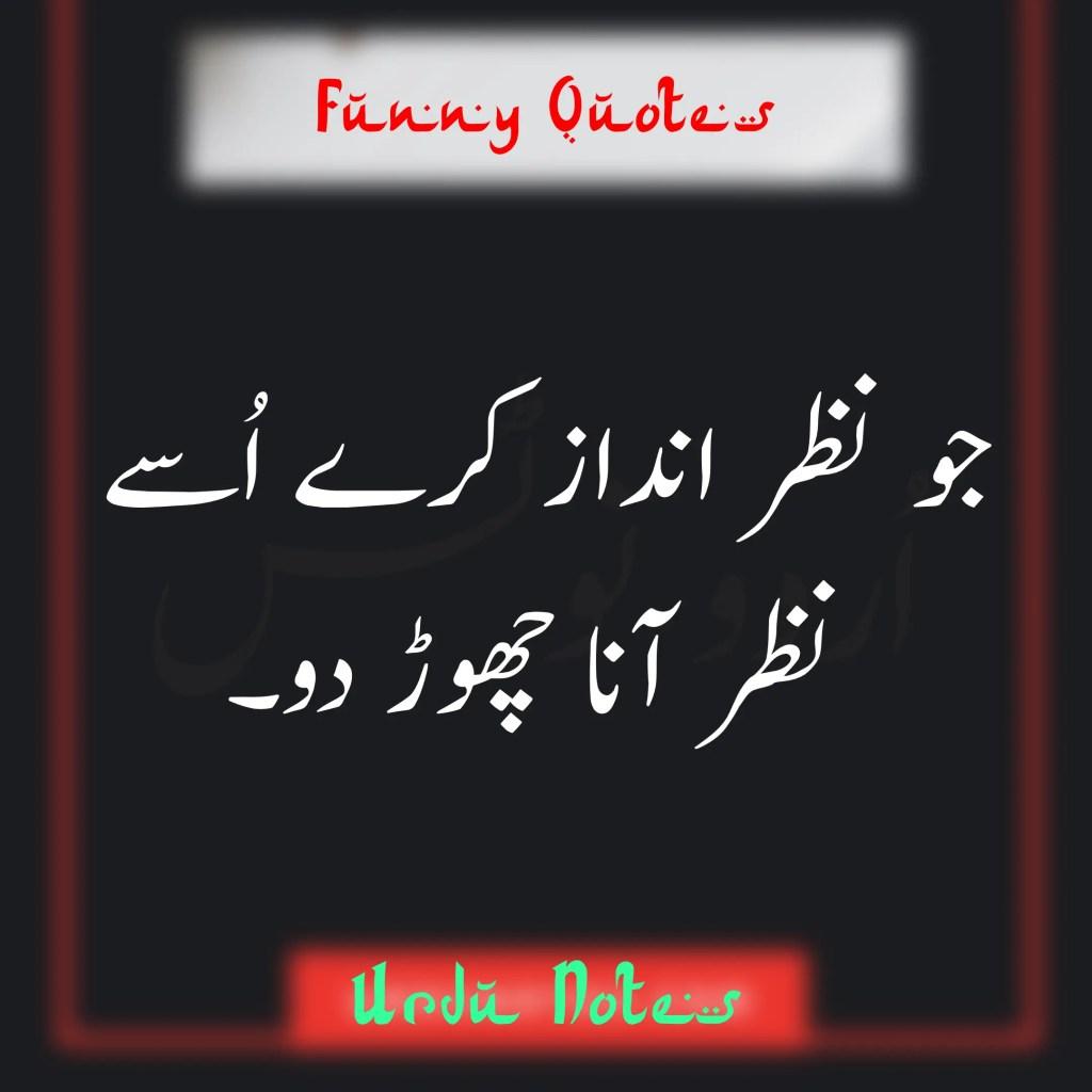 Funny Quotes In Urdu 7