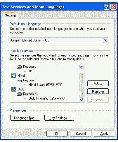 language in XP-3