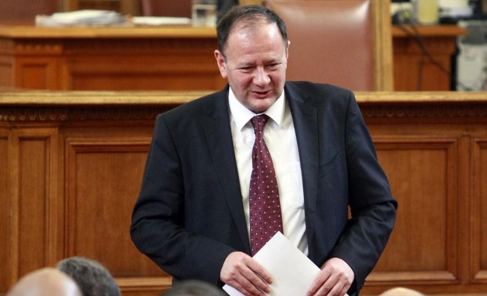 Председателят на НС Михаил Миков. Снимка: БГНЕС