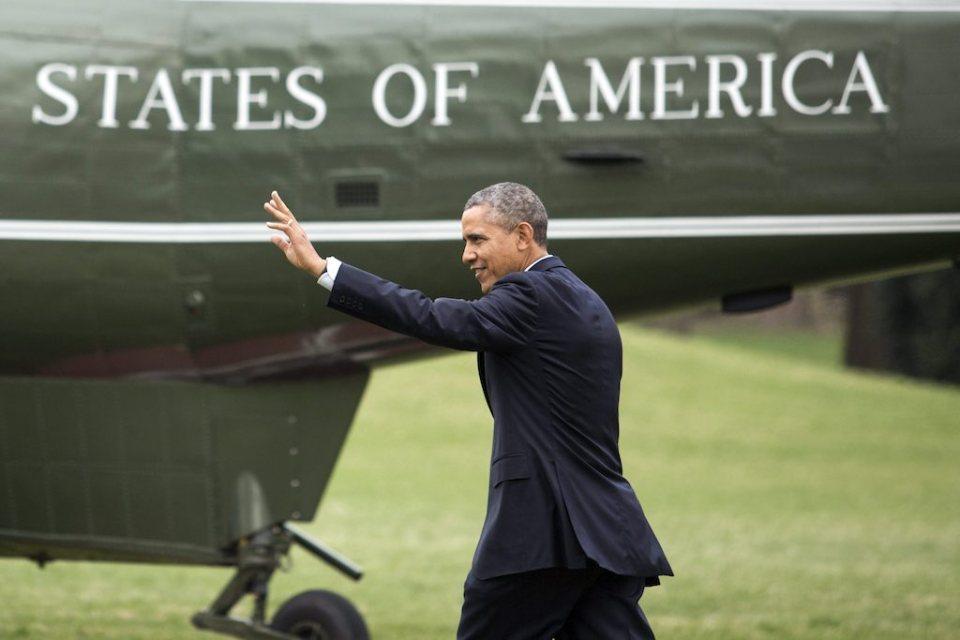 Президентът на САЩ Барак Обама Снимка: EPA/БГНЕС