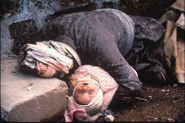 След химическата атака в Халабджа, 1988 г.