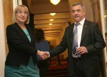 Цецка Цачева и Валери Симеонов