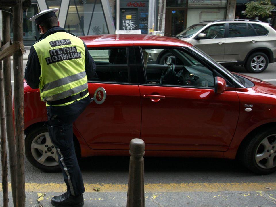 Пътна полиция. Снимка: БГНЕС