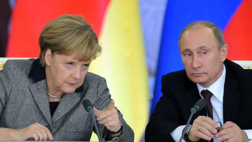 Меркел Путин 3