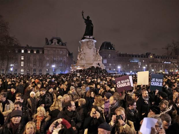 Париж протест